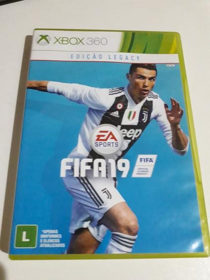 Fifa 19 Xbox 360 Mídia Física