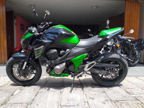 Kawasaki Z 800 Verde 2013