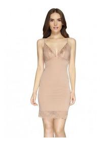 Fondo Vestido Ilusion 2096 Sexy Encaje Ajustable
