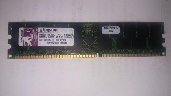 Memoria Servidores Kingston 2gb Ddr 2.5v Fru 41p0252