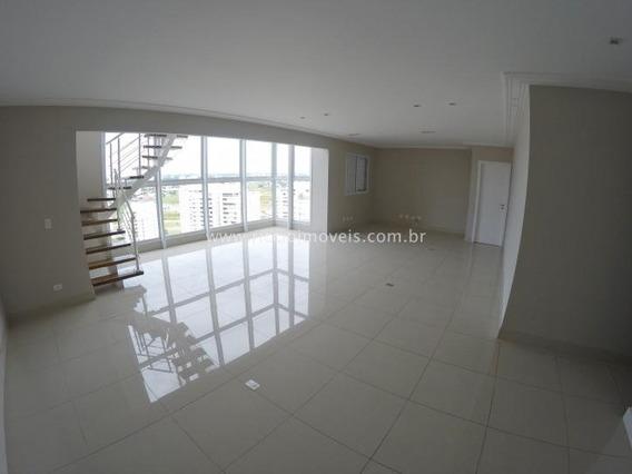 Cobertura Com 3 Dormitórios À Venda, 283 M² Por R$ 1.450.000,00 - Vila Ema - São José Dos Campos/sp - Co0077