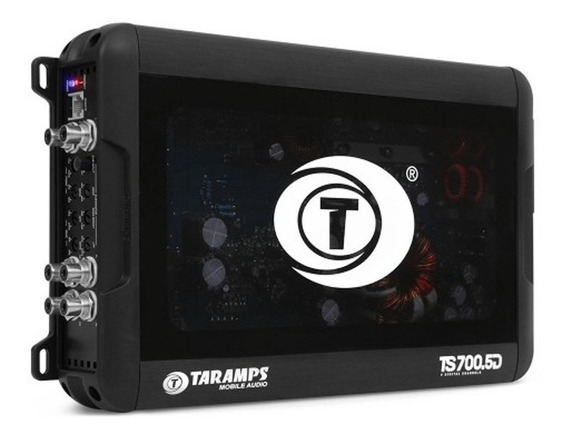 Modulo Taramps Ts-700.5 - 2 Ohms - 4x100 + 1x300wrms Sub