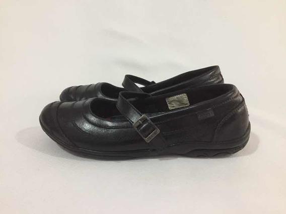 Zapato Escolar Mafalda De Cuero Marca Teener N*39 Negro