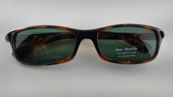 Óculos #solar Fibra Lentes Verdes Jean Monnier 1219c4