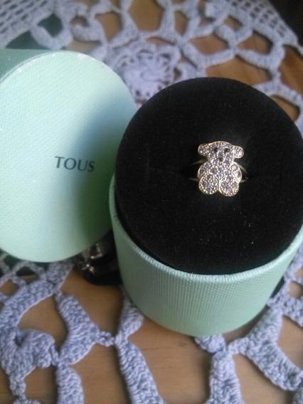 Anillo Tous De En Oro De 10 Kilates