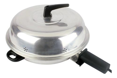 Churrasqueira elétrica Cotherm Pizza Grill 127V preta/prata