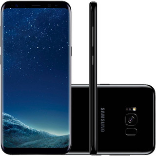 Celular Samsung Galaxy S8+ 128gb Dual Android 7.0 - Preto