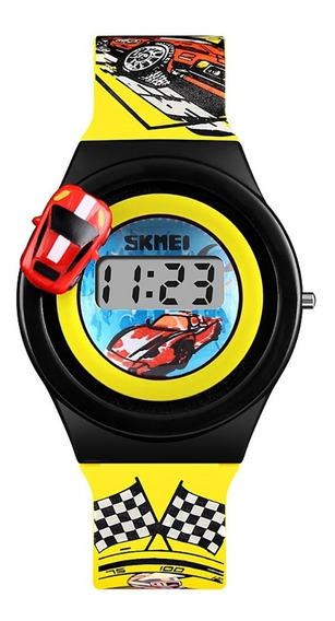 Reloj Skmei 1376 Niños Infantil Moda Carro Giratorio S