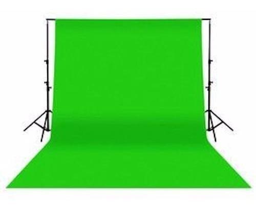 Fondo Fotografico Verde 3 Mt X 1,5 Foto Video Chroma Key