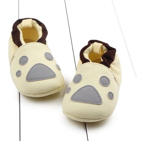 Sapato Anti-slip Com 0-6 Meses Amarelo-bebe-meninas-algodao