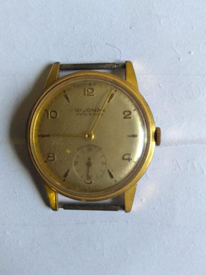 Relógio Suíço Nicomax 15 Rubis