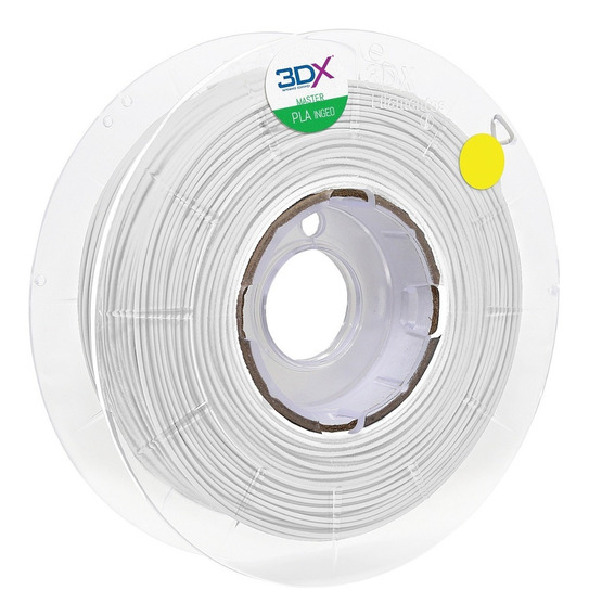 Filamento Pla 1,75 Mm | 1kg | Branco Full