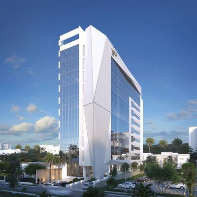 Torre Empresarial De Lujo Y Ecosostenible En Construcción