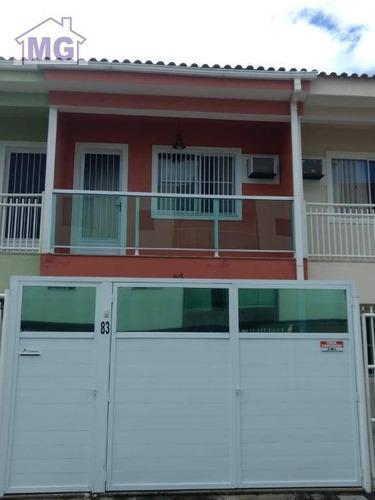 Imagem 1 de 8 de Casa Com 2 Dormitórios À Venda, 79 M² Por R$ 450.000,00 - Mirante Da Lagoa - Macaé/rj - Ca0248