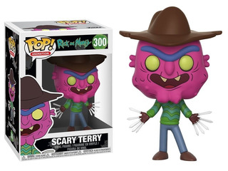 Funko Pop! Rick And Morty #300 - Scary Terry + Goku #527