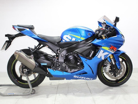 Suzuki Gsx R 750 Moto Gp Srad 2016 Azul