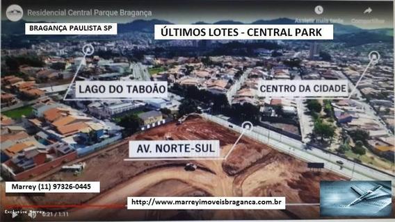 Terreno Para Venda Em Bragança Paulista, Últimas Unidades A Venda - Lotes Central Park - 511