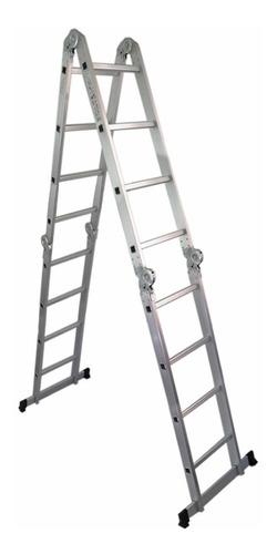 Escalera Multifuncion De 16 Escalones De 4.7 Mts Para 150k