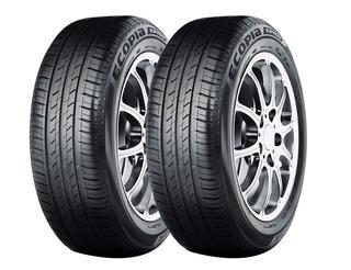 Kit X2 Bridgestone 175 65 R14 82h Ecopia Ep150 18 Cuotas!