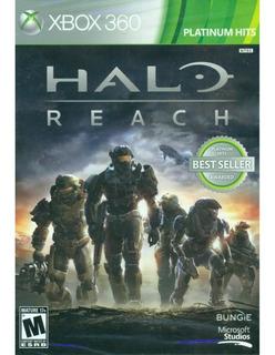Juego Halo Reach Xbox 360 Nuevo Original
