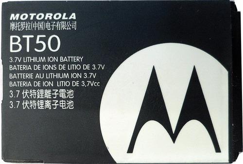 Imagen 1 de 3 de Bateria Original Motorola Bt-50 3.7v 850mah (2012) Sz Pz# Lz