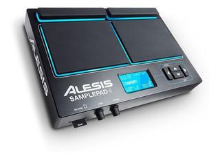 Alesis Samplepad 4 Pad De Percusión Bateria Electronica Samplepad