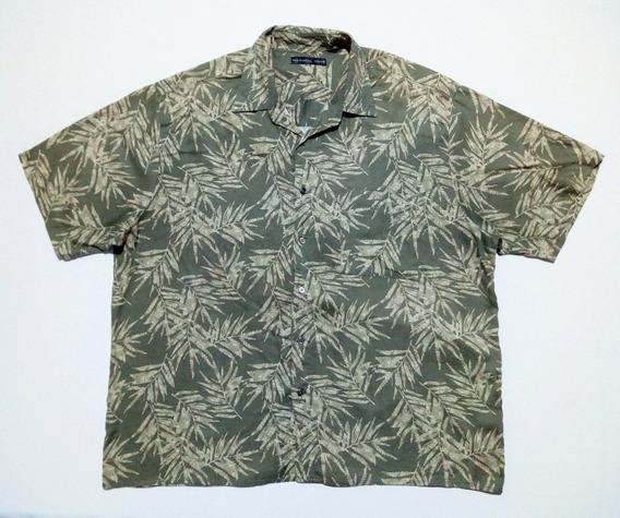 Camisa Hawaiana Playera Floreada Americana Talle 2xl Xxl 283