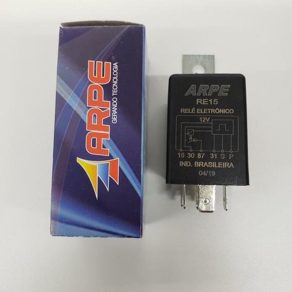 Relé Eletrônico Com Sensor De Tensão 12v Automotivo Re15