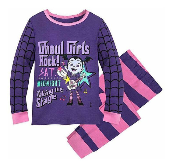 Pijama De Vampirina Para Niña Original De Disney Store