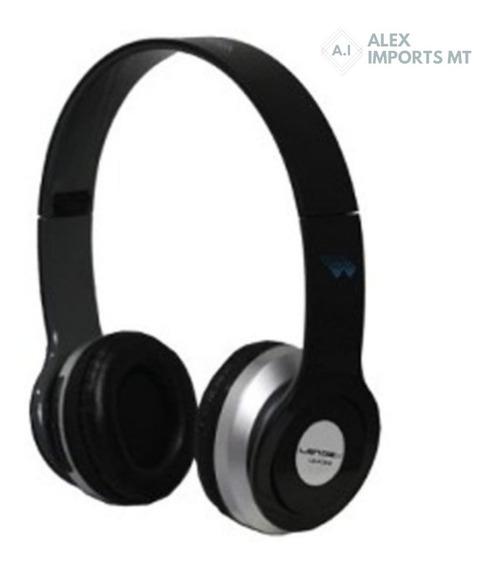 Fone De Ouvido Cartão Micro Sd, Headphone Mp3 Sem Fio Usb