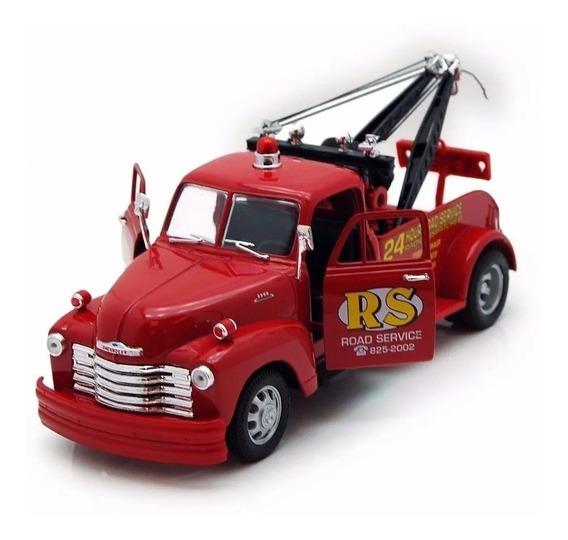 Camion Auxilio 1953 Chevrolet 1/24 Welly Colec. Devoto Toys