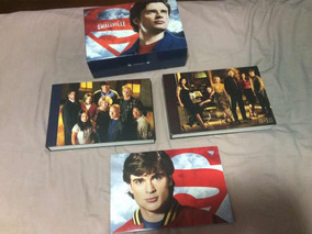 Smallville Gift Set 10 Temporadas 62 Dvds Série Completa
