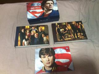 Smallville Gift Set 10 Temporadas 62 Dvds Série Completa