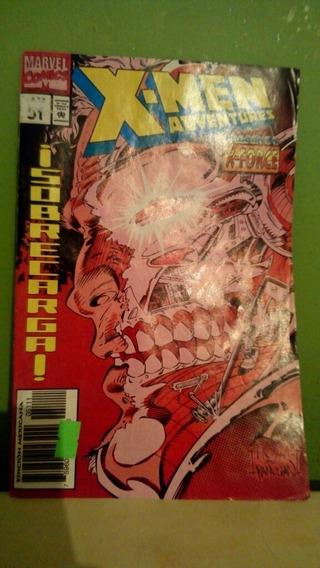 Comic Antiguo Historieta X-men Superheroes Revista Coleccion