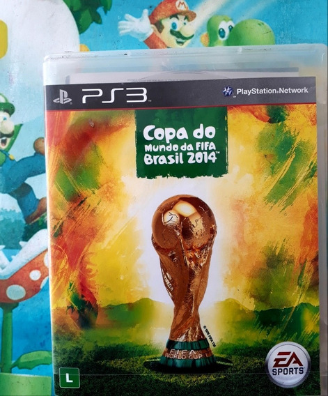 Promoção Copa Do Mundo Fifa Brasil 2014 Para Playstation 3