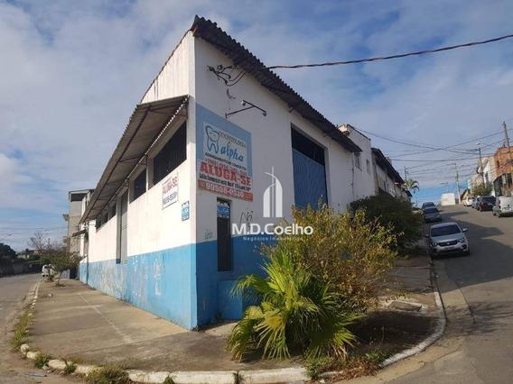 Galpão Para Alugar, 600 M² Por R$ 6.000,00/mês - Vila Nova Bonsucesso - Guarulhos/sp - Ga0153
