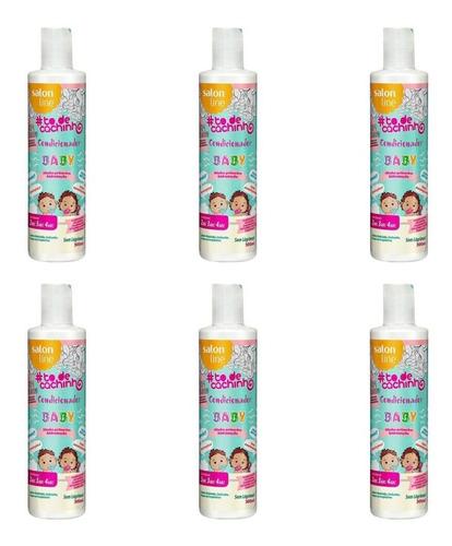 Salon Line Baby Condicionador Todos Cabelos 300ml (kit C/12)