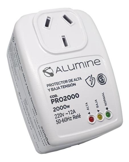Protector De Tension Alumine Alta Y Baja Tensión 2000 W Ref.