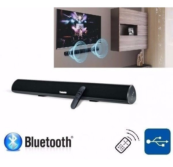 Caixa Som Soundbar Tomate Bluetooth Mts-2016 Mini 60w