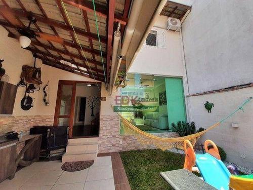 Sobrado Com 3 Dormitórios À Venda Por R$ 371.000 - Jardim Dos Bandeirantes - São José Dos Campos/sp - So2385