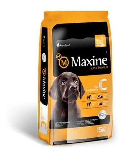 Imagen 1 de 2 de Comida Perro Maxine Cachorro 21 Kg + Obsequio + Envio