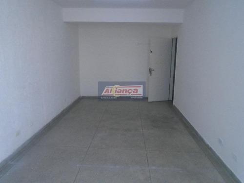 Sala Comercial Para Locação, Centro, Guarulhos - Sa0108. - Ai3169