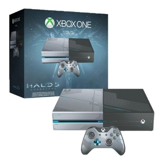 Xbox One Edição Especial Halo 5 Impecável