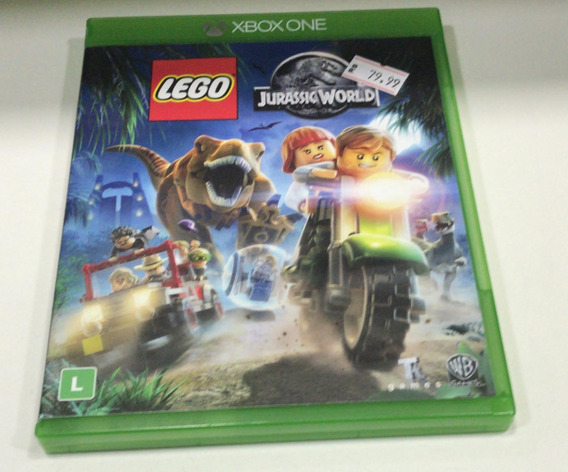 Lego Jurassic World Xbox One Semi Novo