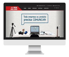 Site Responsivo Empresarial Com Painel Admin