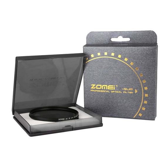 Filtro Nd Zomei 72mm Densidade Neutra Variável Nd2 - Nd400