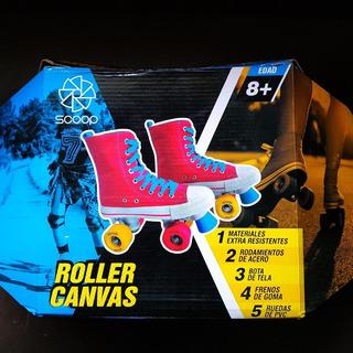 Patines Scoop Roller Canvas