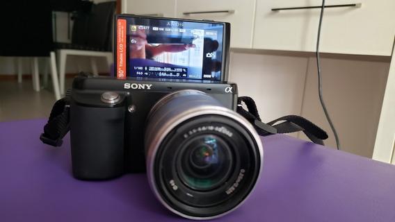 Câmera Semiprofissional Sony Nex-f3 Excelente Conservação