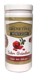 Grenetina Hidrolizada Sabor Arándano 100% Natural 550 Grs Pr