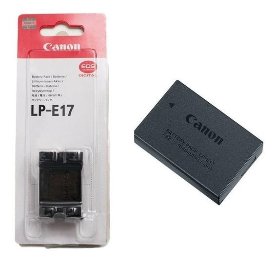 Bateria Lp-e17 Original P T6i T6s T7i Autorizada Canon C/nf